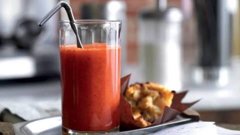 Cocktail vitaminé aux carottes, oranges sanguines et gingembre