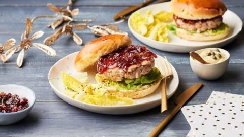 Burgers steak de thon rouge et compotée d'oignons