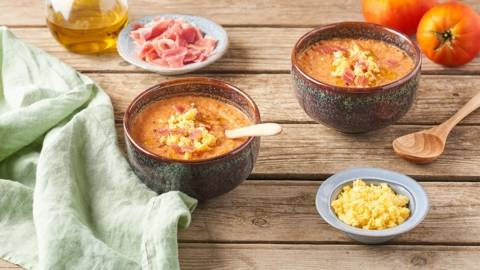 Soupe froide à la tomate - Salmorejo