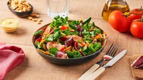 Salade de mâche et magret