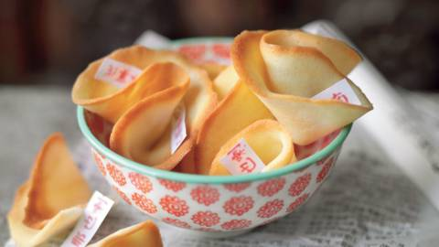 Fortune cookies (biscuits de chance)