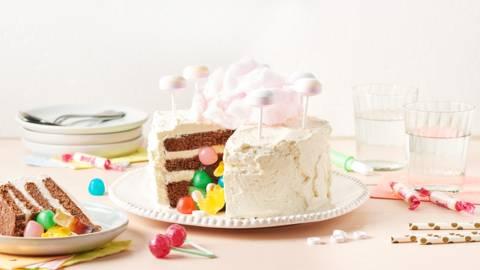 Gâteau surprise au chocolat