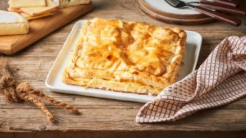 Tourte aux trois fromages