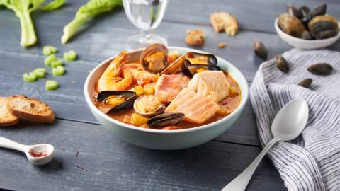 Bouillabaisse traditionnelle
