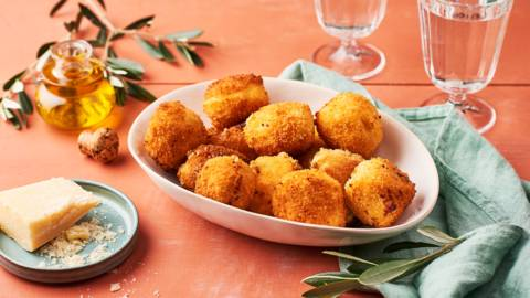 Croquettes au parmesan