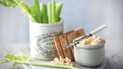 Crème de Brie et céleri à tartiner