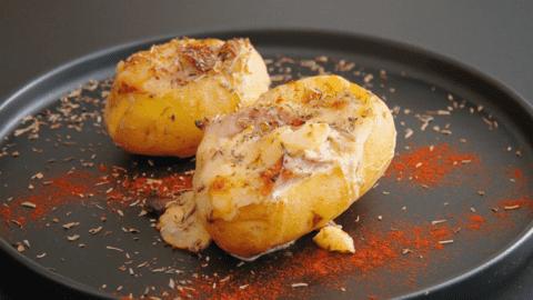 Pommes de terre fromage et bacon
