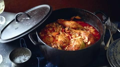Cassoulet au poulet