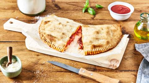 Pizza calzone maison
