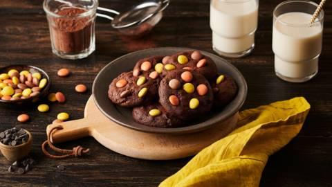 Dark cookies tout chocolat