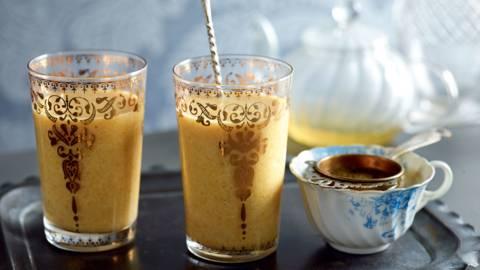 Smoothie façon thé glacé