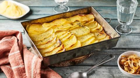 Pommes de terre façon boulangère