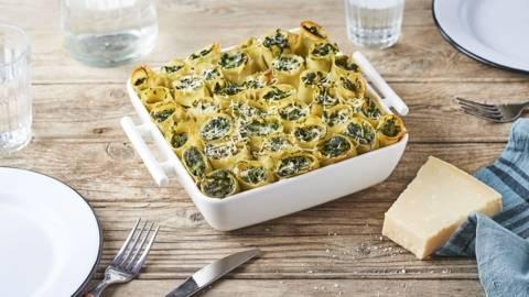 Cannelloni épinard et ricotta