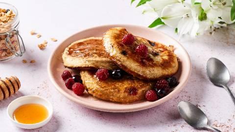 Pancakes au muesli