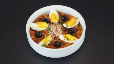 Salade de carottes tunisienne - Omek Houria