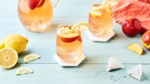 Sangria ice tea au citron