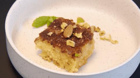 Gâteau Basboussa