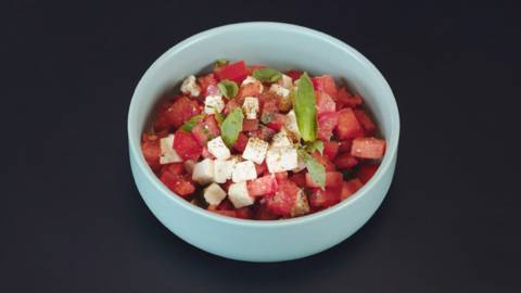 Tartare tomates pastèque