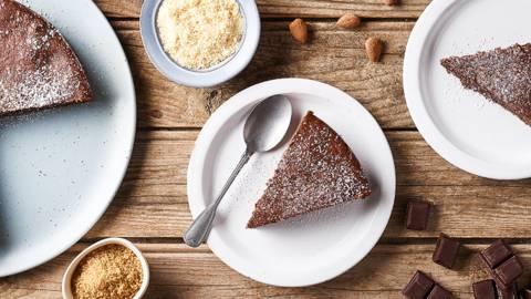 Gâteau italien au chocolat et aux amandes | Torta caprese