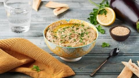Purée d'aubergine - Baba ganoush