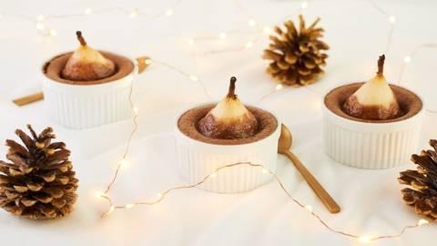 Mi-cuit chocolat-poire
