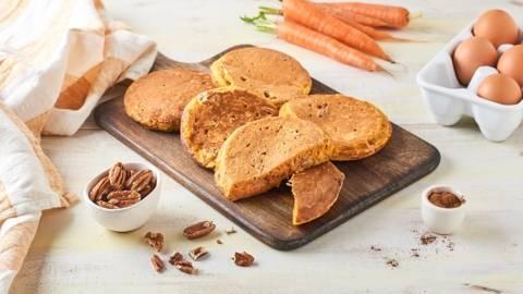 Carrot cake pancake