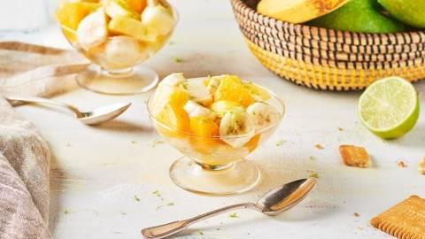 Salade de fruits jaunes