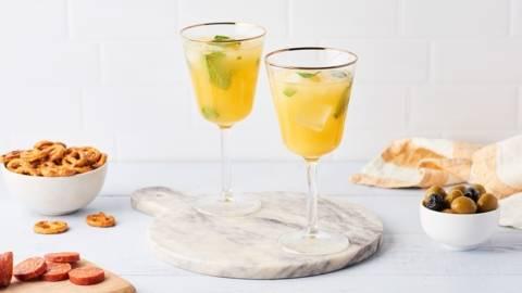 Punch ananas et orange