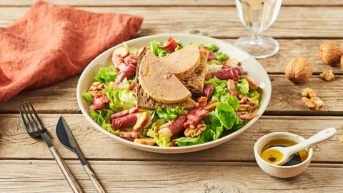 Salade du Périgord aux gésiers