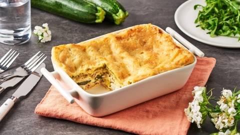 Lasagnes de courgettes et thon
