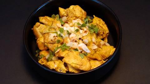Poulet au curry d'Audrey