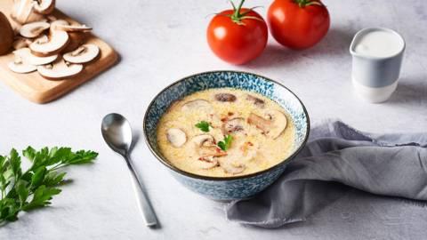 Soupe au poulet et lait de coco | Tom Kha Gai