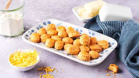 Craquelins au fromage