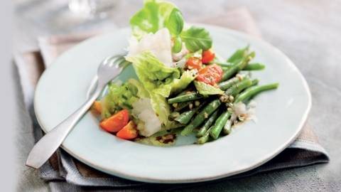 Salade d'haricots verts à l'italienne