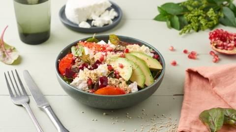 Salade de quinoa à l'orange