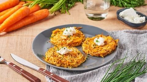 Röstis de carottes