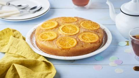 Gâteau renversé aux mandarines