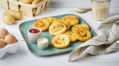 Beignets de pommes de terre Smiley