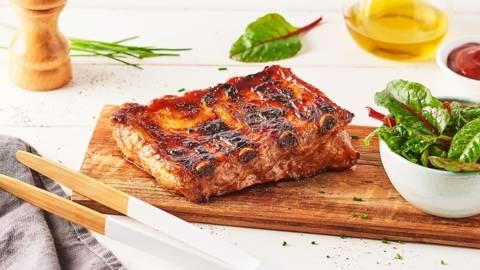 Ribs de porc caramélisés