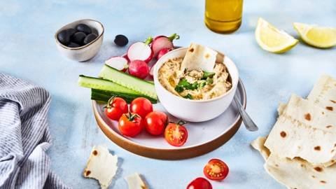 Moutabal : Caviar d'aubergines libanais