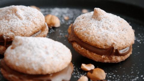 Macarons aux noisettes