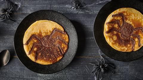 Pancakes araignée
