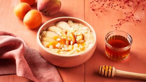 Porridge aux fruits d'été