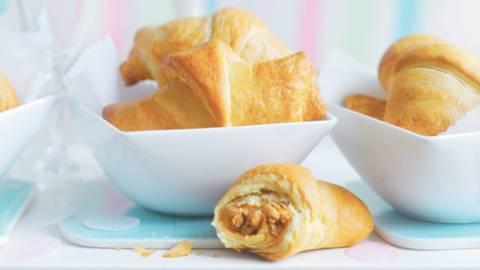 Croissants fourrés à l'orientale