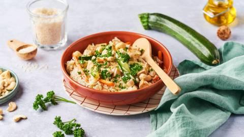 Riz sauté végétarien au tofu