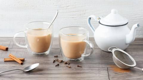 Chaï latte aux épices