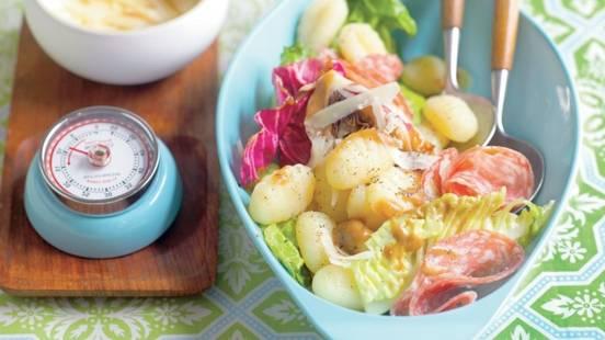 Salade de gnocchi à l'italienne