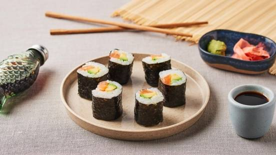 Makis saumon avocat