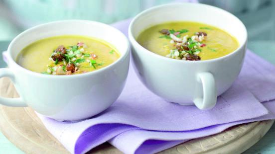 Soupe de curry à l'indienne