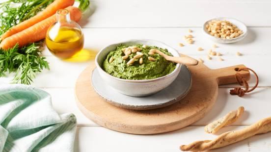 Pesto de fanes de légumes